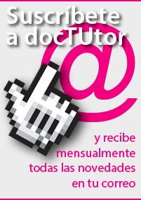 Suscríbete a nuestro Boletín docTUtor