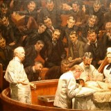 The Clinic of Dr. Agnew by Thomas Eakins (1889)